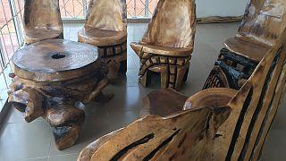 Nigeria: Expressing culture through wood carving