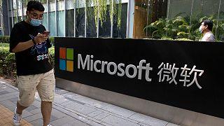حملات سایبری چین به مایکروسافت