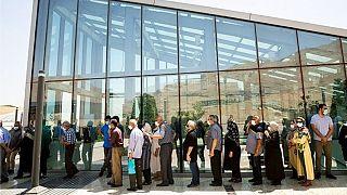 صف واکسیناسیون کرونا در ایران