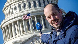 ABD'de AFP muhabiri