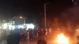 تظاهرات در استان خوزستان
