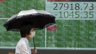 Πτωτικές τάσεις στις αγορές της Ασίας λόγω covid