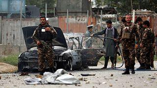 انفجار در نزدیکی ارگ ریاست جمهوری افغانستان در کابل