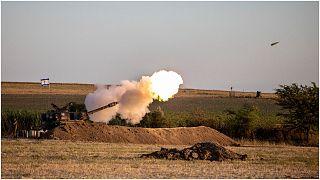 مربض مدفعية إسرائيلية
