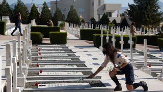 Κύπρος - Επιμνημόσυνη δέηση για τους πεσόντες κατά την τουρκική εισβολή