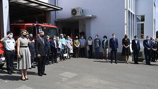 La Belgique se fige pour une minute de silence en hommage aux victimes des inondations