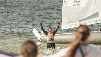 Olympic sailor Hannah Mills