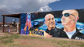 Primeiro voo tripulado da Blue Origin com Jeff Bezos a bordo