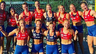 تیم هندبال ساحلی نروژ