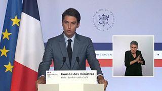 El portavoz del Gobierno francés advierte sobre la gravedad de la cuarta ola de COVID