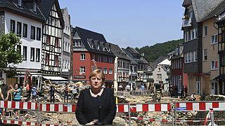 Άνγκελα Μέρκελ: Ταχείες διαδικασίες παροχής βοήθειας στους πλημμυροπαθείς