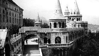 A Halászbástya a Budai várban, 1938