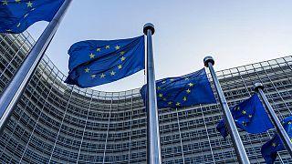 AB bayrakları - Brüksel