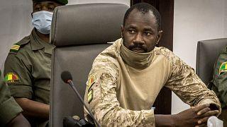 Mali'de sivil geçiş sürecinin cumhurbaşkanı Albay Assimi Goita'
