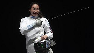 Mara Navarria ai mondiali di Budapest