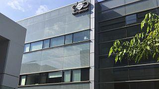 """مقر شركة """"إن إس أو"""" الإسرائيلية بمدينة تل أبيب ومطورة برنامج بيغاسوس للتجسس."""