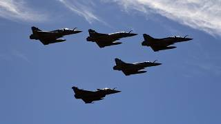 French Rafale fighter jets
