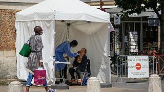 افزایش شمار مبتلایان به کرونا در فرانسه