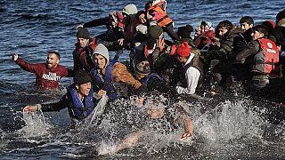Ege denizindeki mülteciler