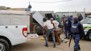 South Africa unrest hits 40,000 businesses, government says