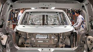 خط تولید فولکس واگن در آلمان