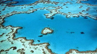 Heart Reef, Great Barrier Reef, Australia