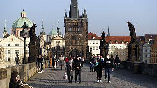A cseh főváros (illusztráció)