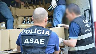 European police seized 1.7 million litres of fake wine, beer and spirits in 18 months