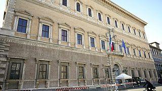 Roma: uno squarcio artistico su Palazzo Farnese
