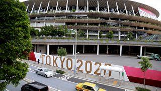 صورة خارجية للاستاد الوطني بالعاصمة اليابانية طوكيو. 29/06/2021