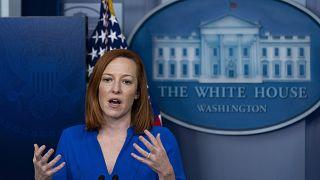 جين ساكي المتحدثة باسم البيت الأبيض