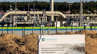 """منشأة خط الغاز """"نورد ستريم 2"""" في لوبمين، شمال شرق ألمانيا، 7 سبتمبر/ايلول 2020"""