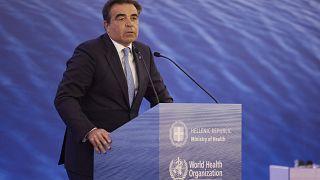 Ο αντιπρόεδρος της Ευρωπαϊκής Επιτροπής, Mαργαρίτης Σχοινάς