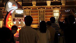 Dernier compte à rebours avant l'ouverture des jeux de Tokyo