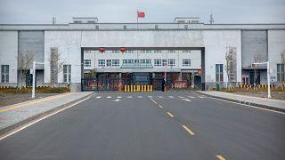 Doğu Türkistan'ın başkenti Urumçi'deki Dabancheng 3 Nolu Gözaltı Merkezi