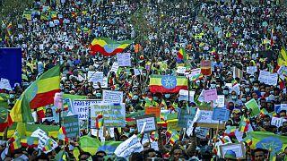 Ethiopie : manifestation de soutien au GERD et à l'armée