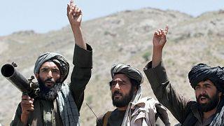 عکس آرشیوی از جنگجویان طالبان