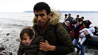 Türkiye üzerinden Avrupa'ya ulaşan Afgan mülteciler (Midilli Adası, Yunanistan)