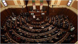 صورة من داخل البرلمان الجزائري