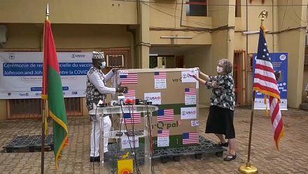 Burkina Faso receives 150,000 Covid vaccines from U.S.