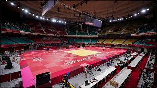 قاعة رياضية مخصصة لنزالات الجودو في أولمبياد طوكيو