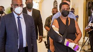 Haiti: First Lady Moïse mourns late president as Haitians demand justice