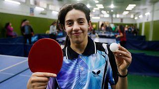 الللاعبة السورية تطمح للفوز بميدالية في أولمبياد باريس 2024