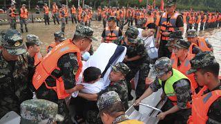 فيضانات عارمة تجتاح الصين
