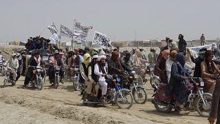 Taliban taraftarları