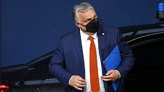 A magyar miniszterelnök Brüsszelben