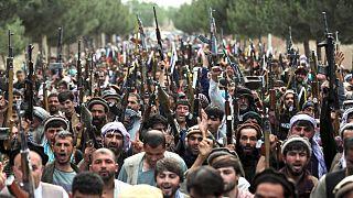 شهروندان افغان برای مقابله با طالبان بسیج شدند
