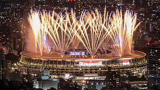 عرض للمفرقعات النارية في سماء طوكيو 2020