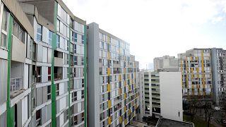 Mietshäuser in Grenoble