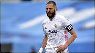 اللاعب الفرنسي كريم بن زيمة